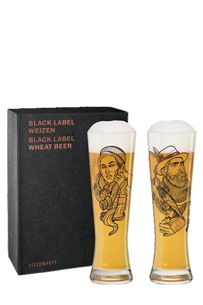 Ritzenhoff黑標小麥啤酒對杯-伐木工與馴鷹者-Ritzenhoff - FALCONER & LUMBERJACK