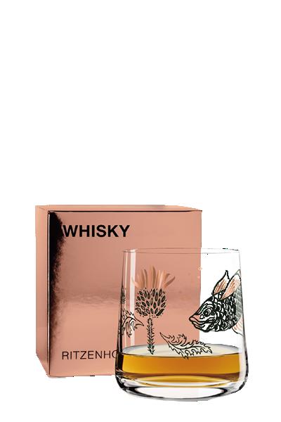 Ritzenhoff 威士忌杯-蘇格蘭薊與魚-Ritzenhoff - GUARDIAN THISTLE