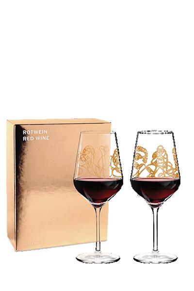 Ritzenhoff 希臘神話紅酒對杯-Ritzenhoff - PAN & SELENE、ZEUS & LEDA