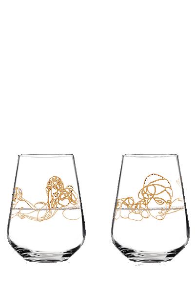 Ritzenhoff 希臘神話水酒對杯-Ritzenhoff - DIONYSOS & PAN、ZEUS & SEMELE