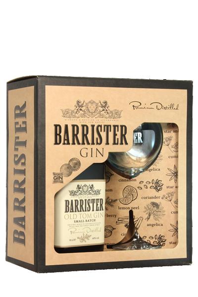 大律師-老湯姆琴酒( 1酒1杯-禮盒組 )-Barrister Old Tom Gin in gift box with glass