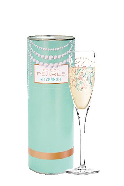 Ritzenhoff 珍珠氣泡酒杯 - 繽紛花園-Ritzenhoff - SHARI WARREN