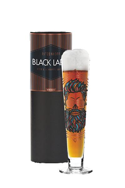 Ritzenhoff 黑標啤酒杯 - 藍鬍子-Ritzenhoff - SANTIAGO SEVILLANO