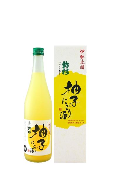 鉾杉柚子果實酒-鉾杉柚子にごり酒