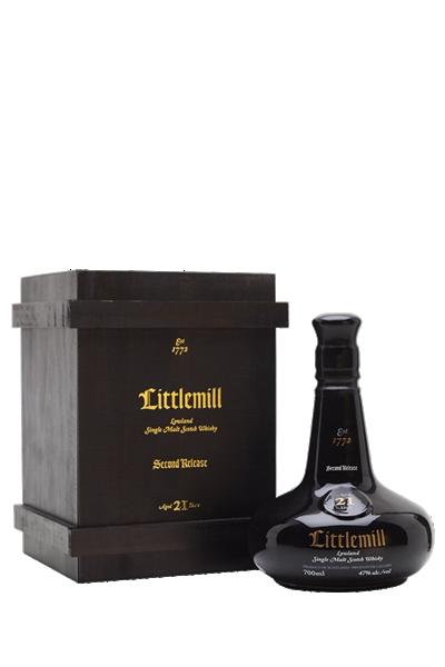小磨坊21年-單一純麥威士忌(已絕版)-Little mill  21y Second Release Lowland  Single Malt Scotch Whisky