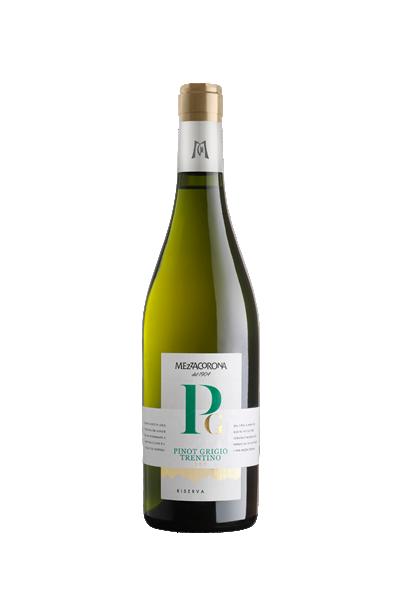 皮諾葛利吉歐窖藏級白酒-梅薩酒莊- Pinot Grigio riserva - Mezzacorona