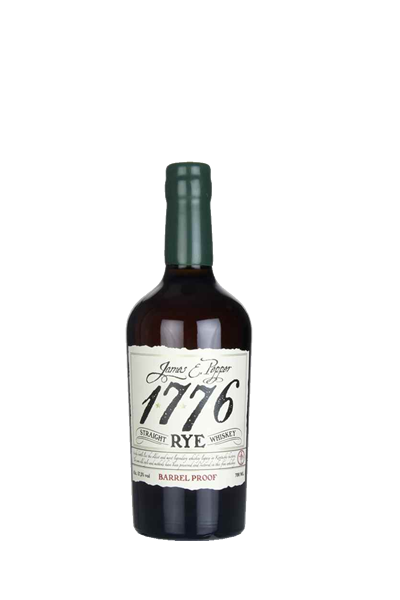 1776裸麥威士忌原酒強度-1776 James E. Pepper  Straight Rye Barrel Proof
