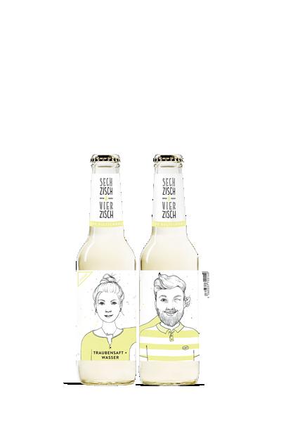亨利樂蒂-氣泡葡萄果汁飲-Sechzisch Vierzisch - Grape Juice