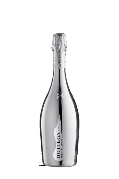 寶緹嘉-白金瓶汽泡葡萄酒-Bottega  WHITE GOLD Spumante Venezia DOC Brut