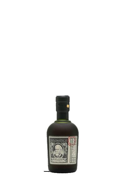 外交官特級精釀-12年蘭姆酒-50ml-Diplomatico Reserva Exclusiva 12 yrs miniature