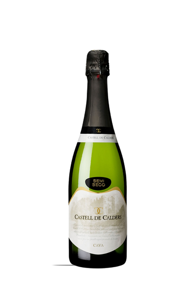 卡斯特-微甜氣泡酒-CAVA等級-Castell de Calders Semi DO CAVA . UNIQ