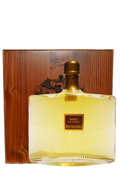 巴羅洛卡努比莊園義式白蘭地木裝(禮盒組)-Grappa di Barolo「Cannubi」 - Montanaro