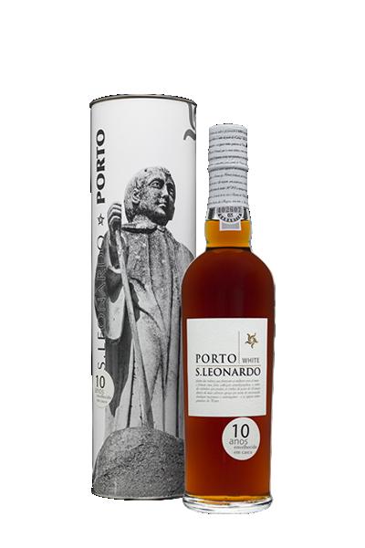葡萄牙10年甜白波特酒(禮盒組)-里奧納多酒莊-Quinta do Mourão S. Leonardo 10 Anos White Porto