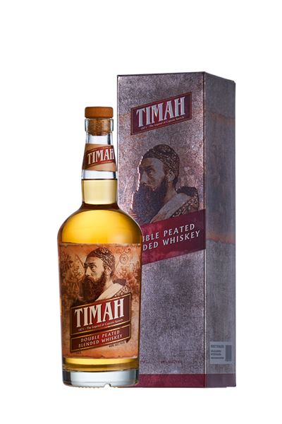 TIMAH大鬍子威士忌(禮盒組)-Timah Double Peated Blended Whiskey RESTOCKED