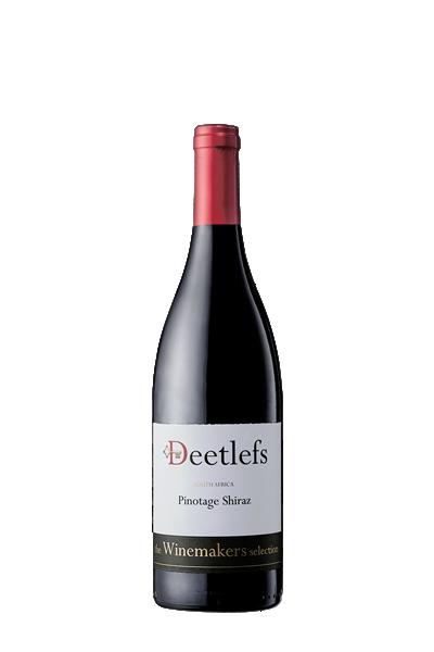 皮諾塔吉施赫紅葡萄酒-迪拉司酒莊-Deetlefs The Winemakers Selection Pinotage Shiraz