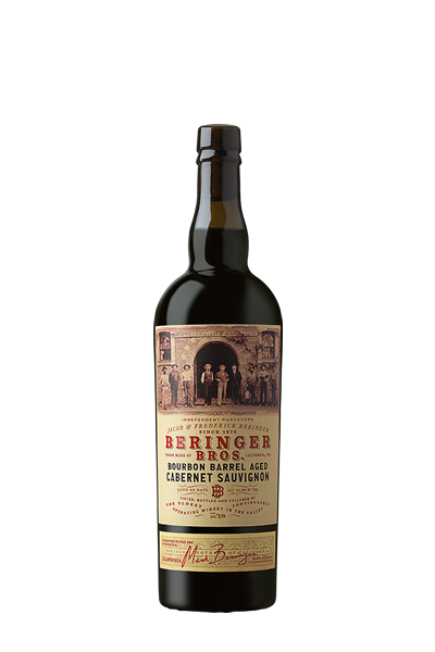 卡本內紅葡萄酒-貝林格兄弟系列-BERINGER BROTHERS BOURBON BARREL AGED CABERNET SAUVIGNON