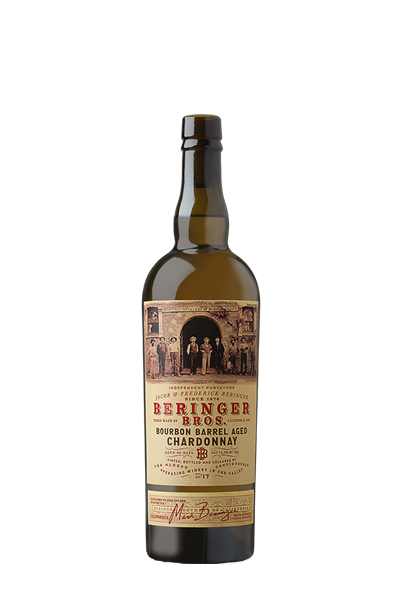 夏多內白葡萄酒-貝林格兄弟系列-BERINGER BROTHERS BOURBON BARREL AGED CHARDONNAY
