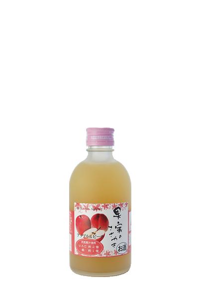 鮮爽蘋果水蜜桃酒- 果実のささやき アップル&ピーチ