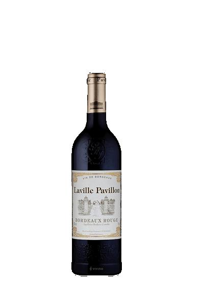 法國波爾多拉維亭AOP葡萄酒-laville pavillon aoc bordeaux rouge