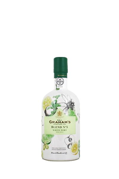 葛拉漢酒莊No.5 半甜型白波特酒-Graham s Blend Nº5 White Port Meio-seco