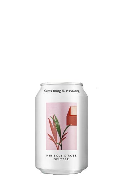 差不多花香塞爾茲氣泡飲-Something & Nothing Hibiscus & Rose Seltzer